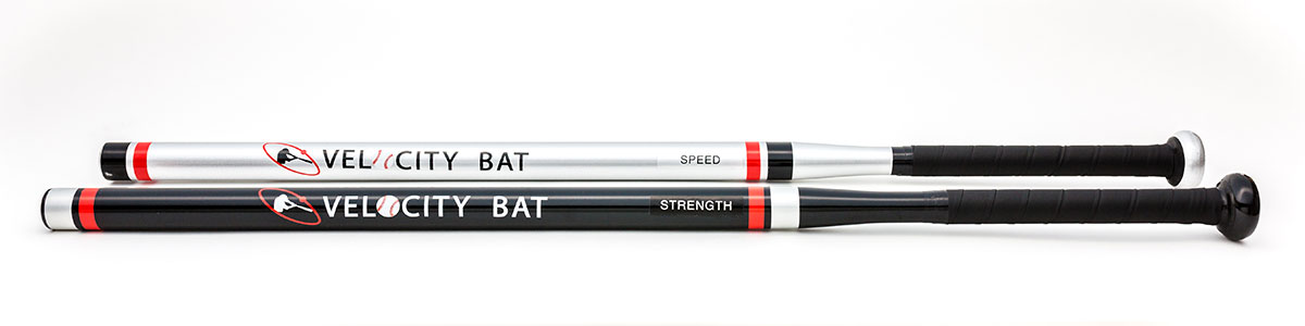 Set of light and heavy Velocity Bats